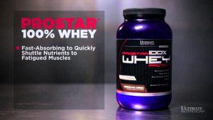 Susu penggemuk badan - Ultimate Nutrition Prostar 100% Whey Protein