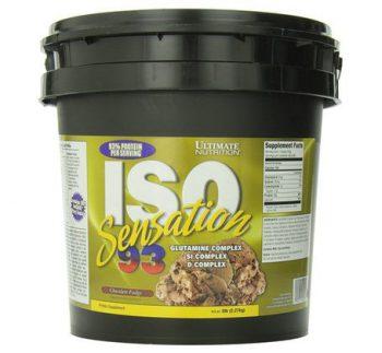 Susu penambah berat badan - Ultimate Nutrition ISO Sensation 93