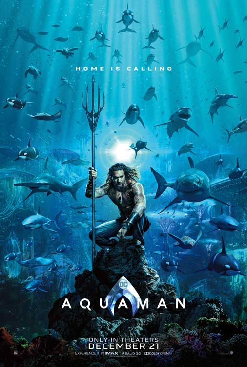 Film Bioskop Desember 2018 - Aquaman