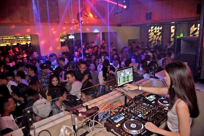 Tempat terbaik merayakan tahun baru di Jakarta - Domain Club