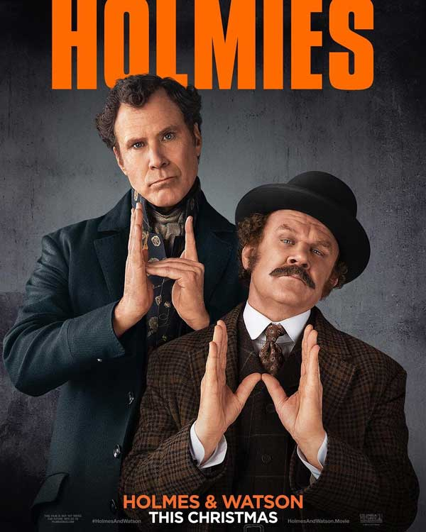 Film Bioskop Desember 2018 - Holmes and Watson