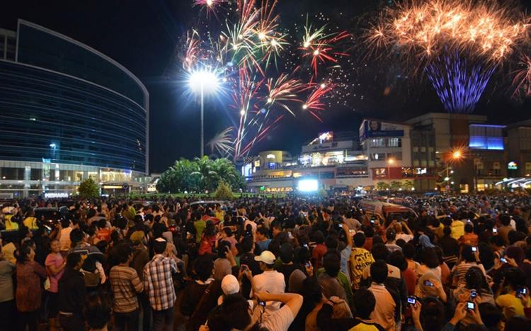 Tempat terbaik merayakan tahun baru di Jakarta - La Piazza