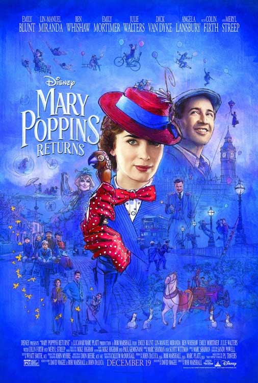 Film Bioskop Desember 2018 - Mary Poppins Returns