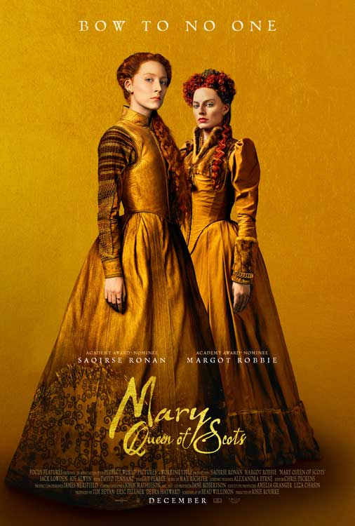 Film Bioskop Desember 2018 - Mary Queen of Scots