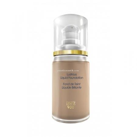 Merk Foundation Yang Bagus - Inez Lustrous Liquid Foundation