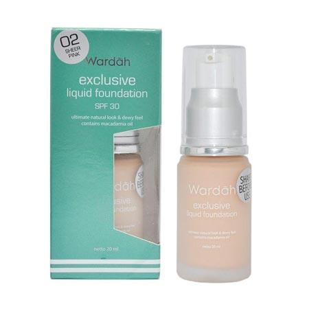 Merk Foundation Yang Bagus - Wardah Exclusive Liquid Foundation