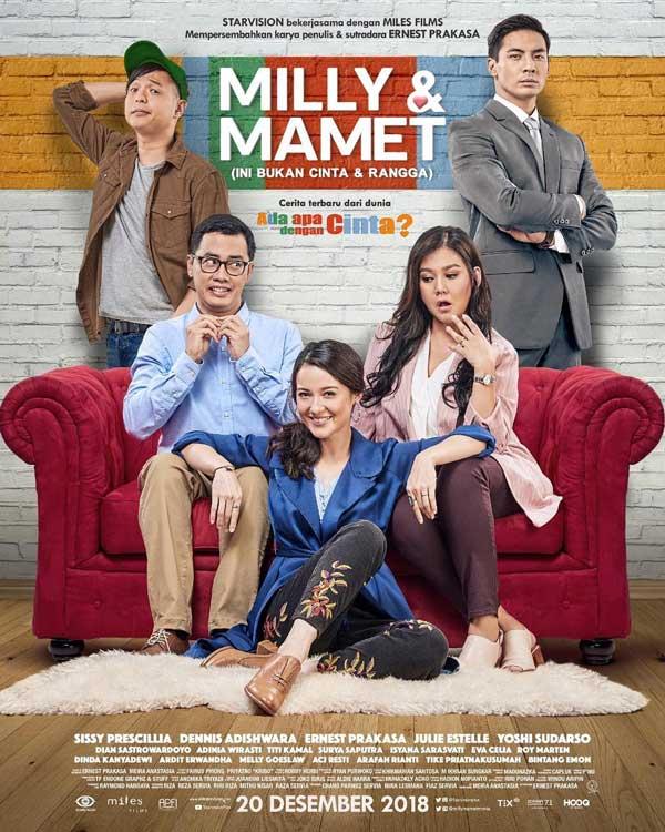 Film Bioskop Desember 2018 - Milly & Mamet