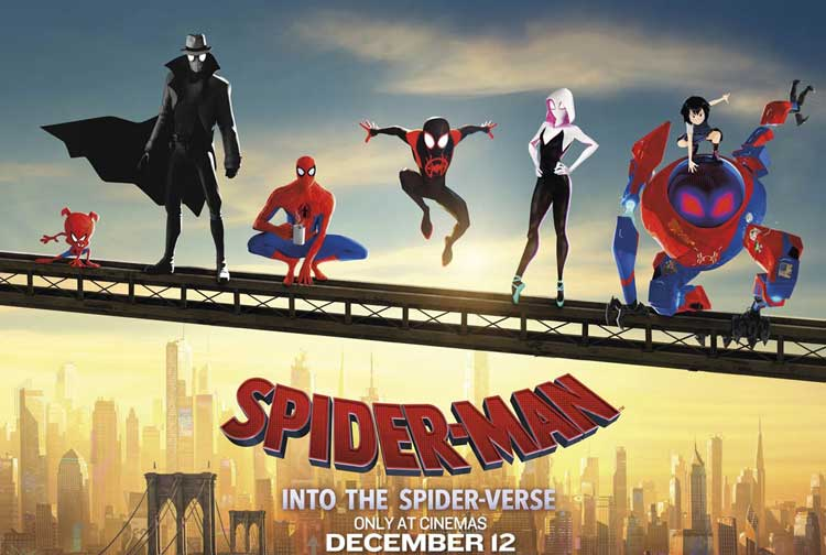 Film Bioskop Desember 2018 - Spider-Man: Into the Spider Verse