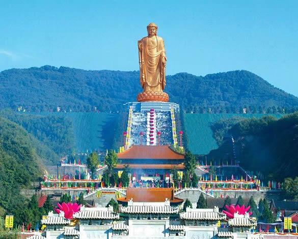 Daftar Patung Tertinggi Di Dunia - Spring Temple Buddha