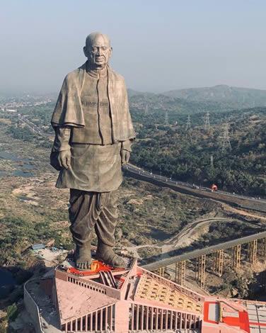 Daftar Patung Tertinggi Di Dunia - Statue of Unity