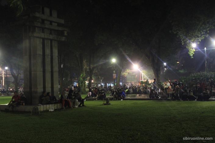 Tempat terbaik merayakan tahun baru di Jakarta - Taman Suropati