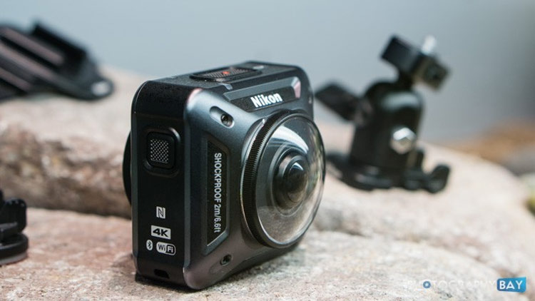 Action Camera Terbaik - Nikon KeyMission 360