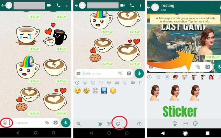 Cara Membuat Stiker Whatsapp Sendiri Blog Unik