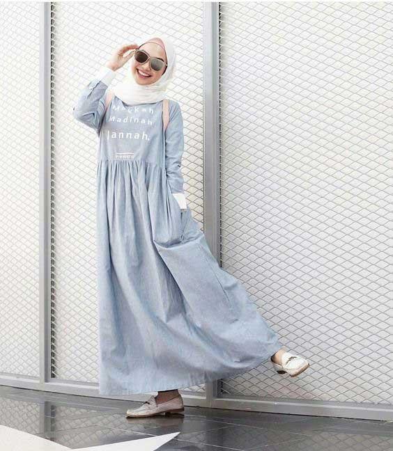 Gamis Street Style - Model Baju Gamis Terbaru dan Terpopuler