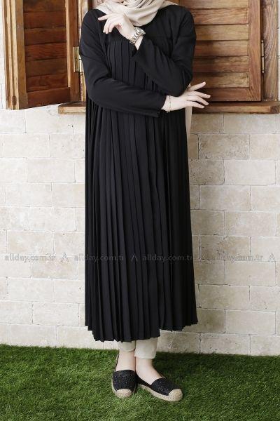 Gamis Detail Pleated - Model Baju Gamis Terbaru dan Terpopuler