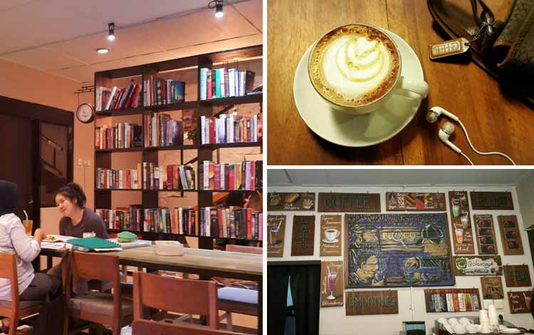 Tempat Nongkrong di Jogjakarta - Blanco Coffee and Book Jogja