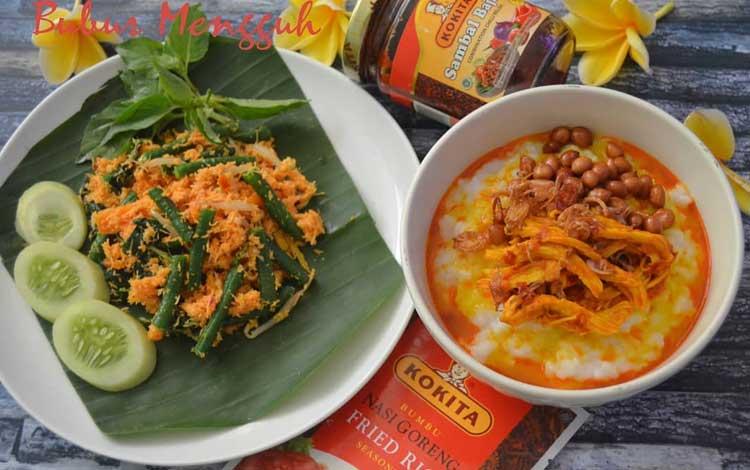 Makanan dan Minuman Khas Bali - Bubur Mengguh