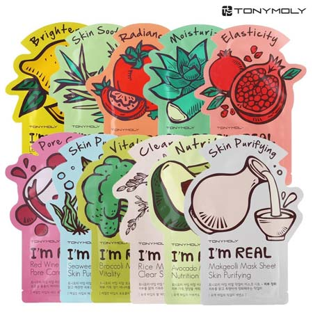 Produk Skincare Yang Trending di Indonesia - Tony Moly I'm Real Mask Sheet
