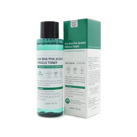 Produk Skincare Yang Trending di Indonesia - Some By Mi AHA BHA PHA 30 Days Miracle Toner