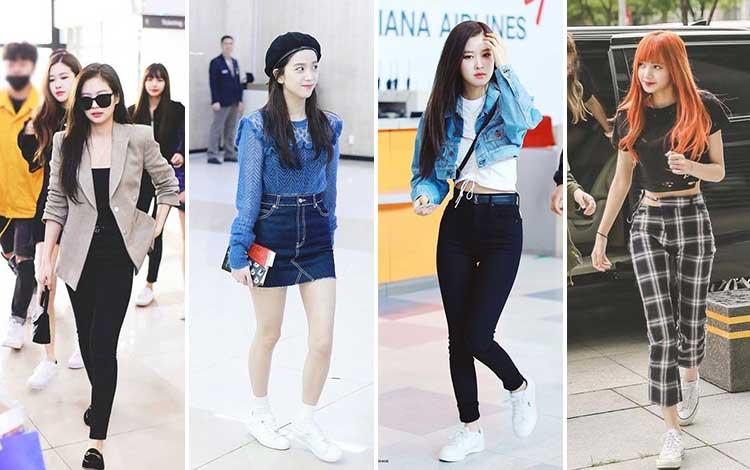Berbagai Gaya Fashion Ala Personel Blackpink Ini Bisa Kamu Tiru Lho