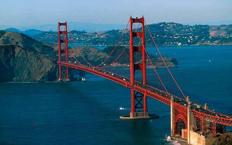 Jembatan Terindah Di Dunia - Golden Gate Bridge