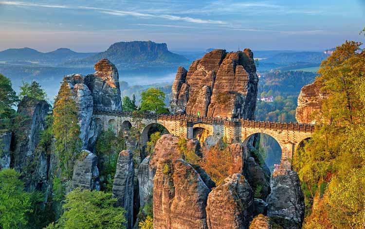 Jembatan Terindah Di Dunia - Jembatan Bastei