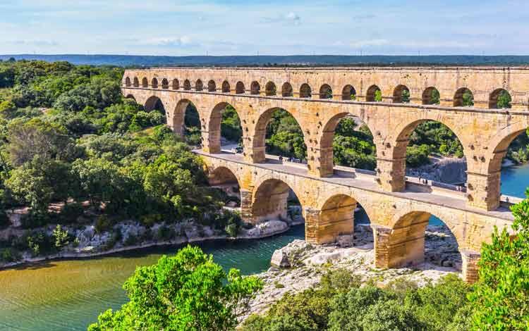 Jembatan Terindah Di Dunia - Pont du Gard