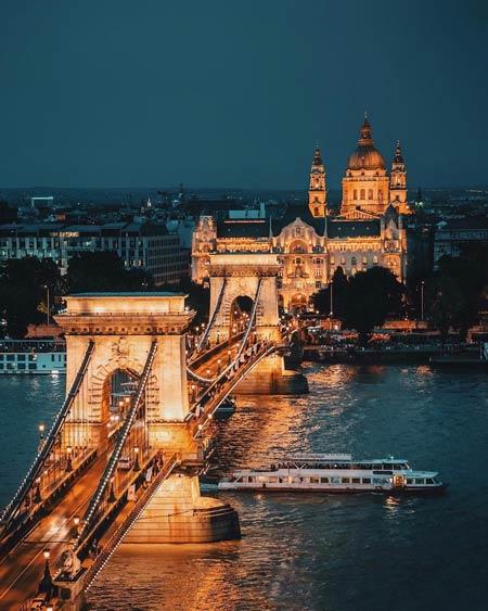 Jembatan Terindah Di Dunia - Jembatan Széchenyi Chain