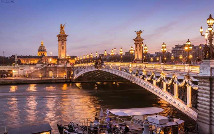 Jembatan Terindah Di Dunia - Pont Alexandre III