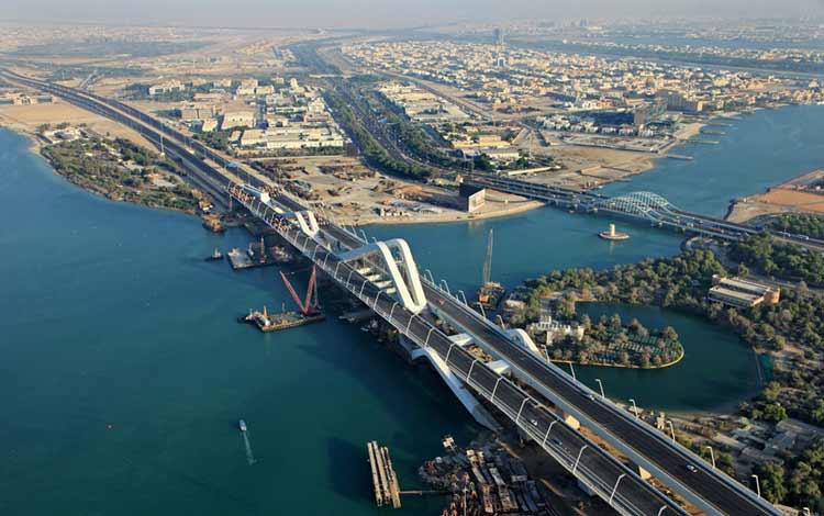 Jembatan Terindah Di Dunia - Jembatan Sheikh Zayed
