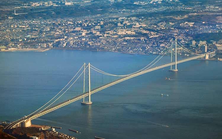 Jembatan Terindah Di Dunia - Jembatan Akashi-Kaikyo