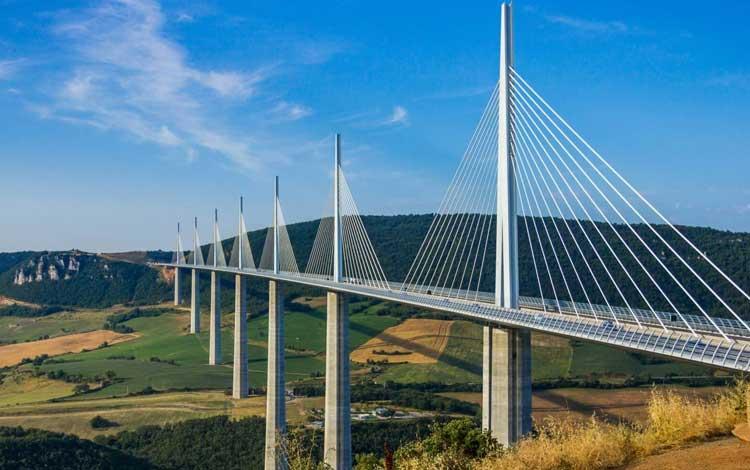 Jembatan Terindah Di Dunia - Millau Viaduct