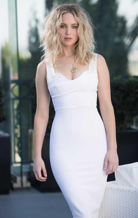Artis Barat Dengan Bentuk Tubuh Paling Sempurna - Jennifer Lawrence