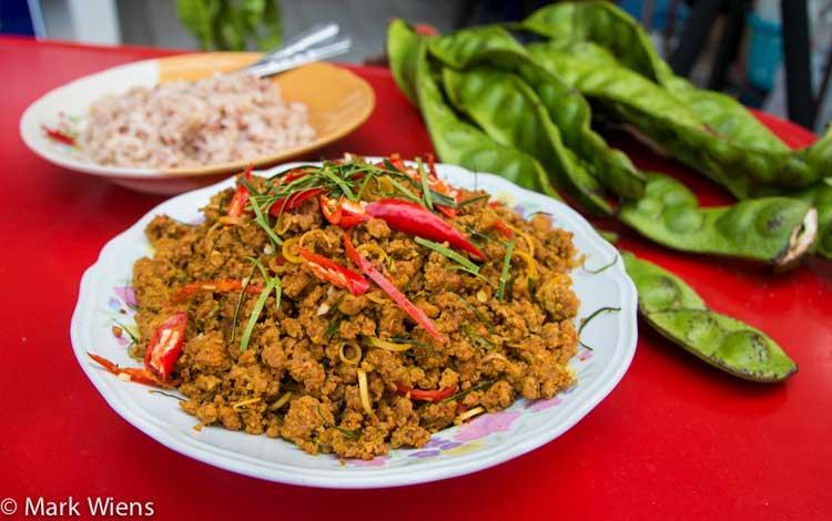 Daftar Makanan Terpedas Di Dunia - Kua Kling Phat Tha Lung
