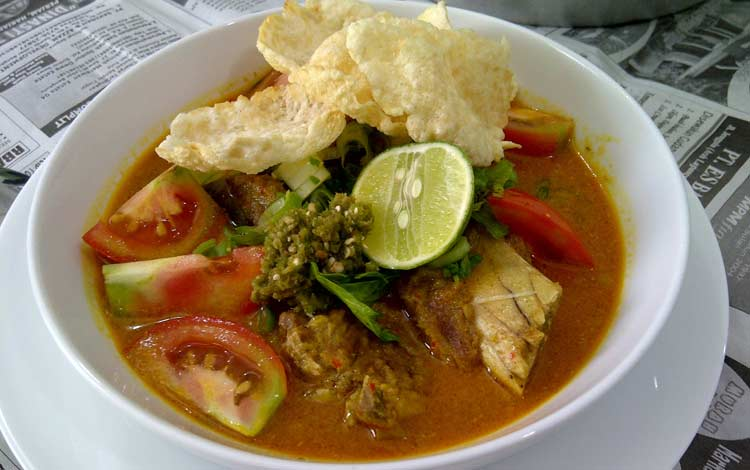 Makanan dan Minuman Khas Jakarta - Soto Tangkar