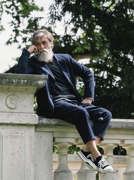 Model Tertua Di Dunia - Philippe Dumas