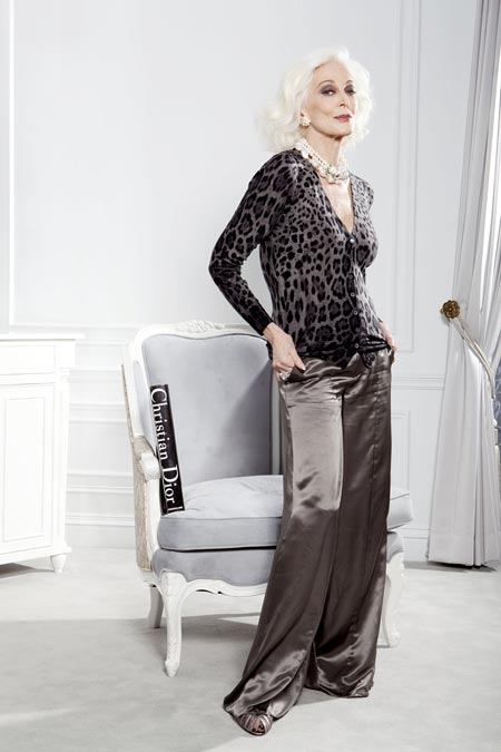 Model Tertua Di Dunia - Carmen Dell'Orefice