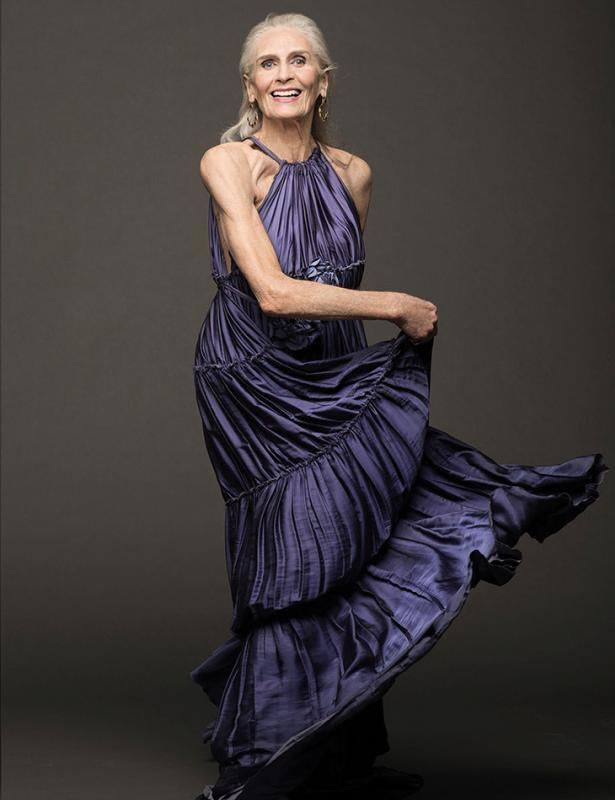 Model Tertua Di Dunia - Daphne Selfe