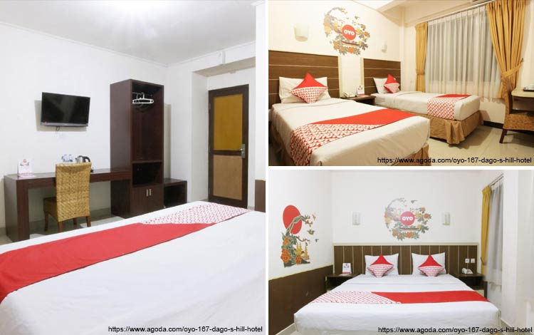 Hotel Bagus dan Murah di Bandung - OYO 167 Dago's Hill Hotel