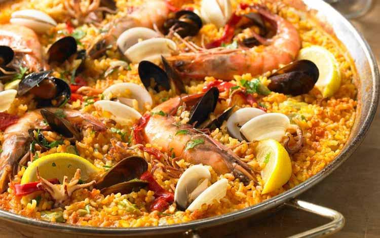 Daftar Makanan Terpedas Di Dunia - Paella