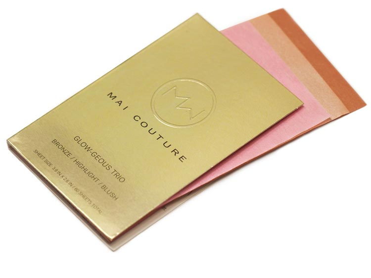 Produk Kecantikan Yang Aneh - Paper Make Up