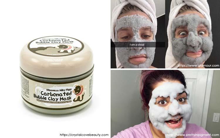 Produk Kecantikan Yang Aneh - Carbonated Bubble Clay Mask