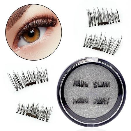 Produk Kecantikan Yang Aneh - Magnetic False Eyelashes