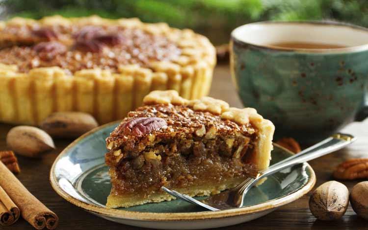 Makanan Dan Minuman Yang Identik Dengan Perayaan Natal - Pumpkin Pecan Pie