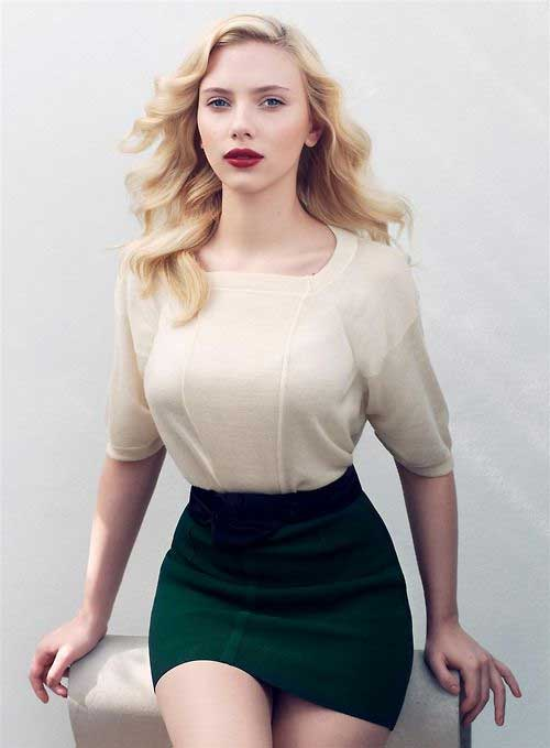 Artis Barat Dengan Bentuk Tubuh Paling Sempurna - Scarlett Johansson