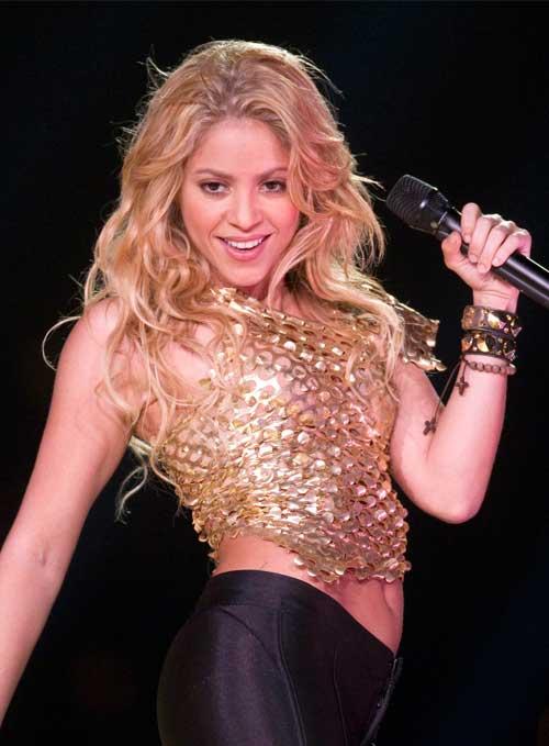 Artis Barat Dengan Bentuk Tubuh Paling Sempurna - Shakira