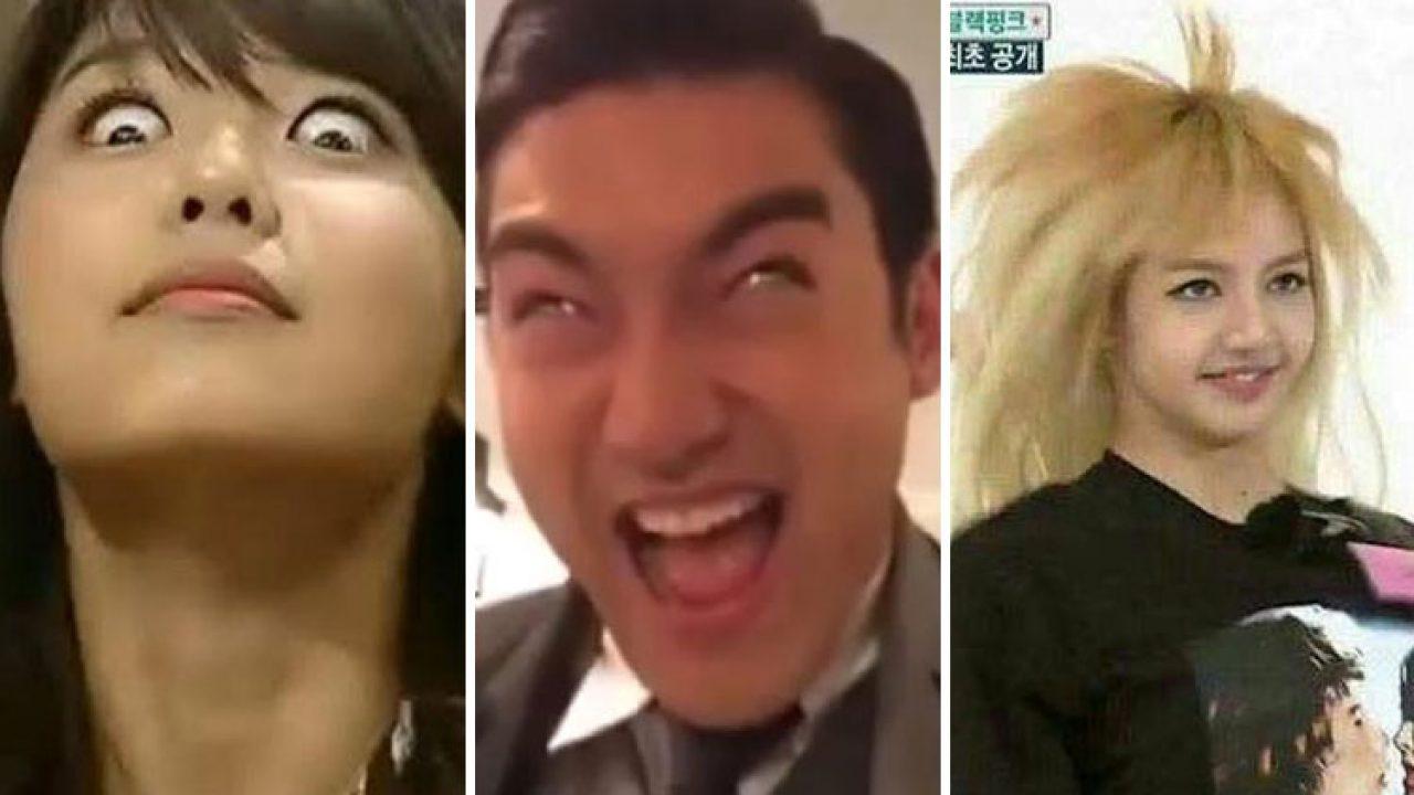 Momen Para Idol Kpop Berwajah Lucu Dan Kocak Yang Tertangkap