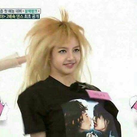 Idol Kpop tertangkap Kamera Berwajah Jelek - Lisa Blackpink