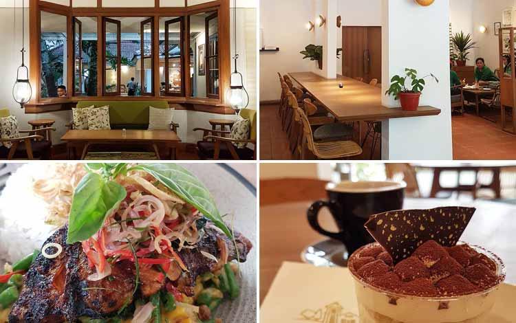 Tempat Nongkrong di Bandung - Dakken Coffee & Steak