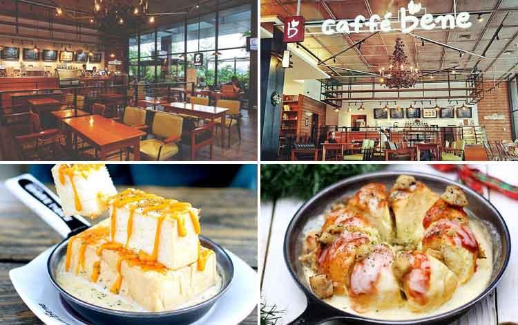 Tempat Nongkrong di Bandung - Caffe Bene Dago